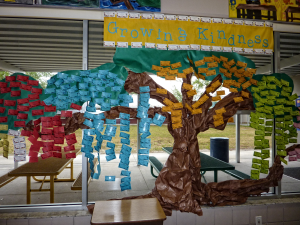 Alta Vista Elementary School Kindness Tree