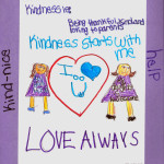 Kindness starts with me project at Alta Vista Elementary School